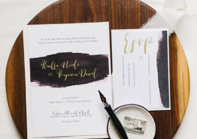 Custom Wedding Stationery_KEB Gallery_1