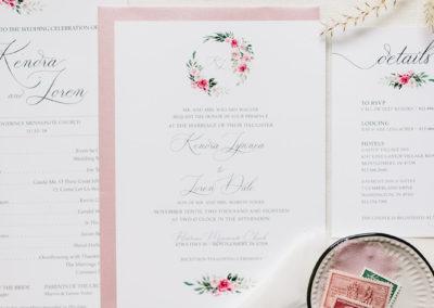 Custom Wedding Stationery_KL Gallery_2