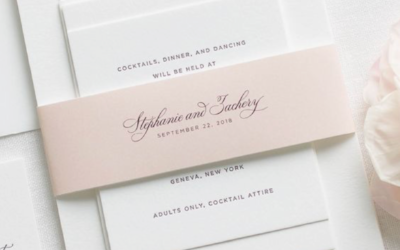 Three ways to make your wedding stationery look expensive without breaking the bank